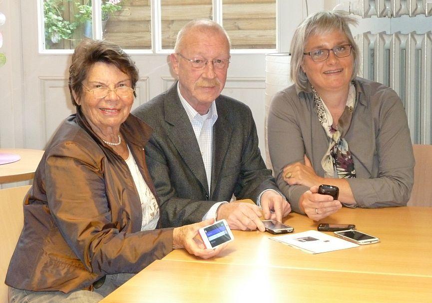 Susanne Götz und die Seniorenvertretung Münster (Foto: Verein Bürgernetz)